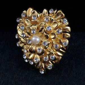 Erwin Pearl Pendant and Brooch